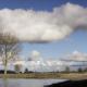 Wolken boven de Lek