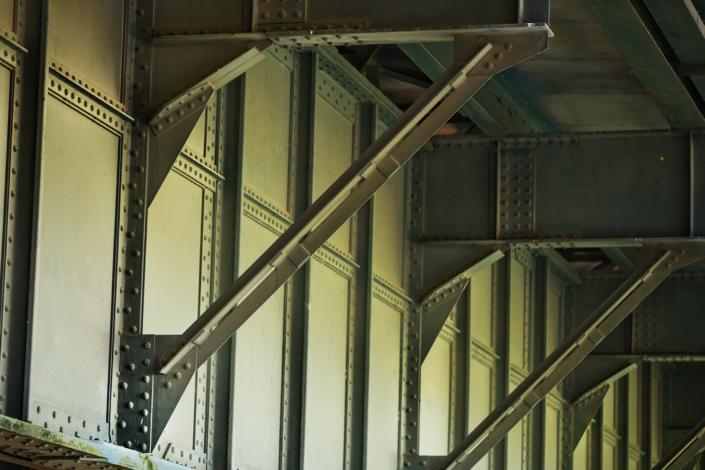 zijsteun brug